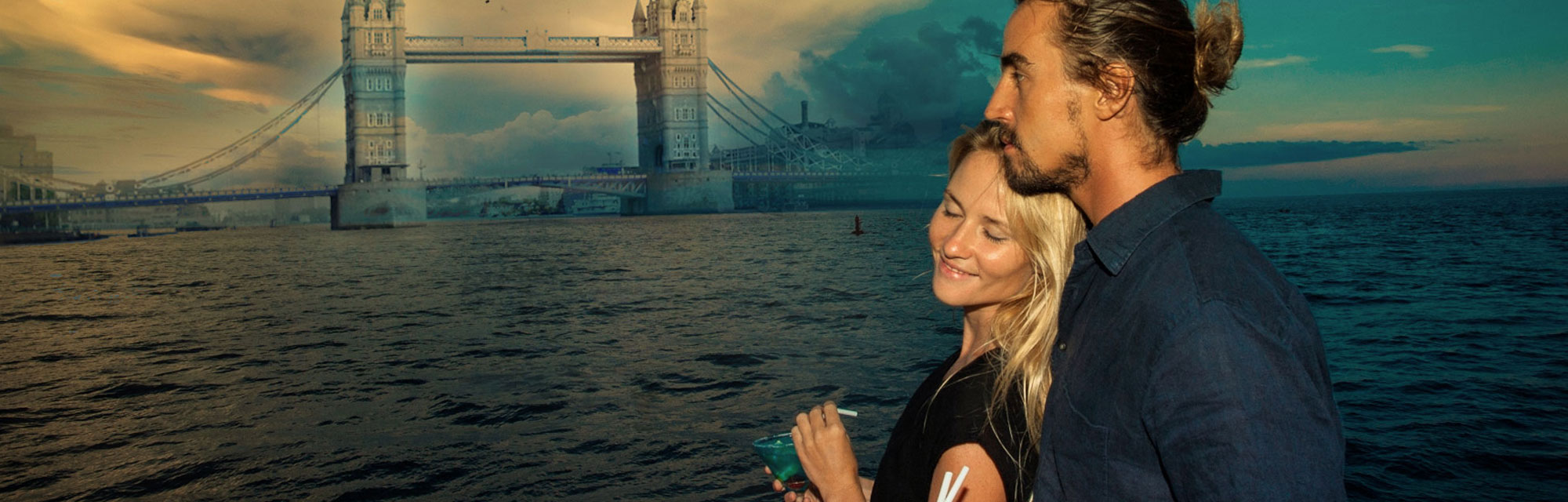 Romantic dinner cruise london